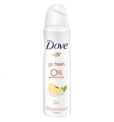 Déodorant Dove Spray Pèsche 0% 150 Ml