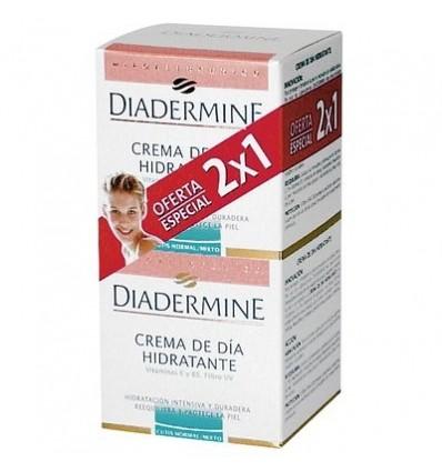 Crema Diadermine Hidratacion normal-mixta Pk-2