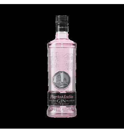 Gin Puerto De Indias Rosa 70 Cl