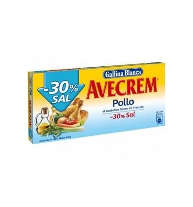 Broth Avecren Chicken Low Salt 10 tablets