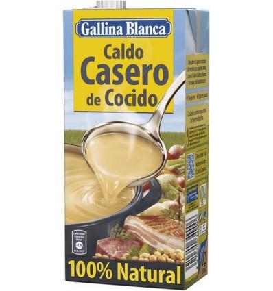 Caldo Gallina blanca Casero Cocido Brik 1 L
