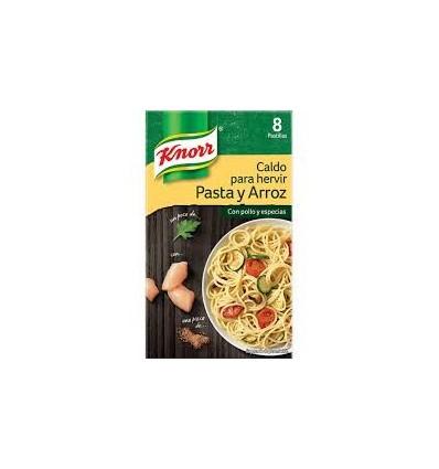 Caldo Knorr Pasta Y Arroz 8 Pastillas
