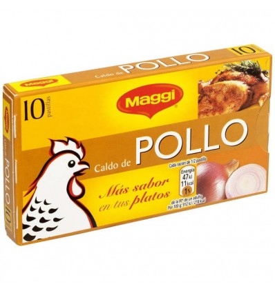 Caldo Maggi Pollo 10 Pastillas