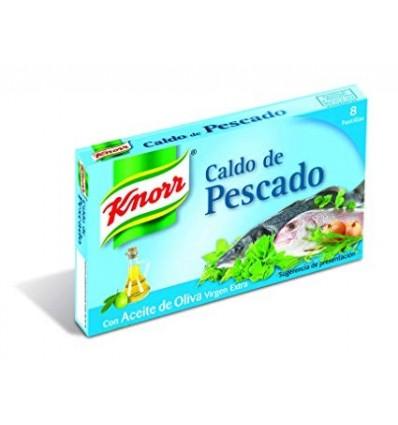 Caldo Knorr Pescado 8 Pastillas