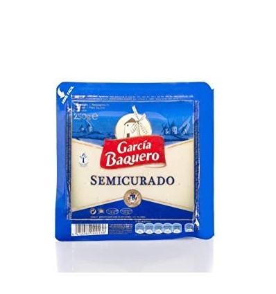 Queso Garcia Baquero semi curado cuña 250 grs