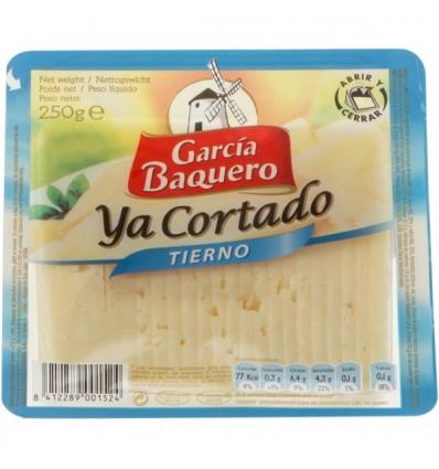 Queso Garcia Baquero tierno Ya cortado 250 grs