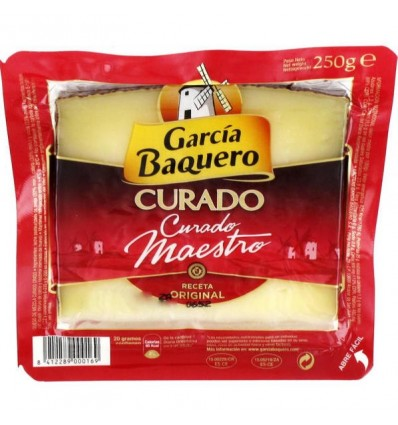 Cheese Garcia Baquero Cured 250 grs