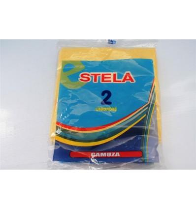 Bayeta Gamuza Stela Amarilla Pack-2