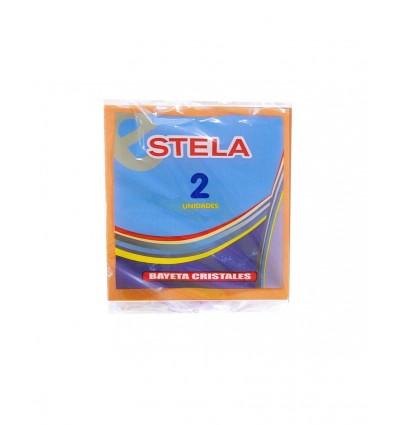Bayeta Stela Cristales Microperf. Pack-2