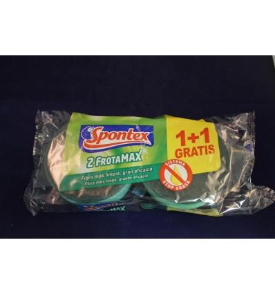 Tampon à récurer Spontex protège ongles