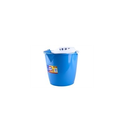 Cubo Fregona Completo Redondo Milk 13 L