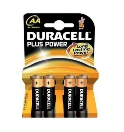Pilas Duracell Plus Lr-6 Pack-4