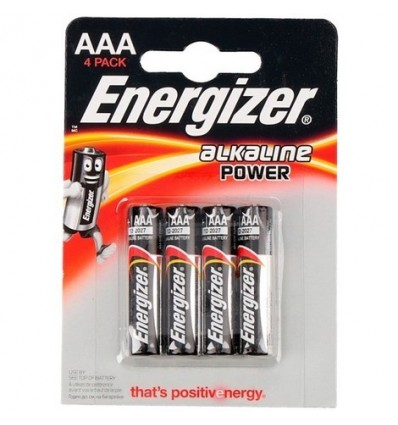 Pilas Energizer Lr03 Bl-4 E92