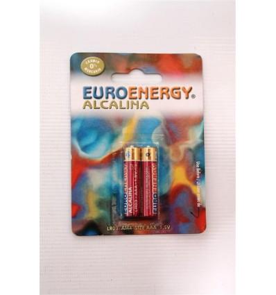 Pilas Euroenergy Alcalina Lr-03 Pack-2