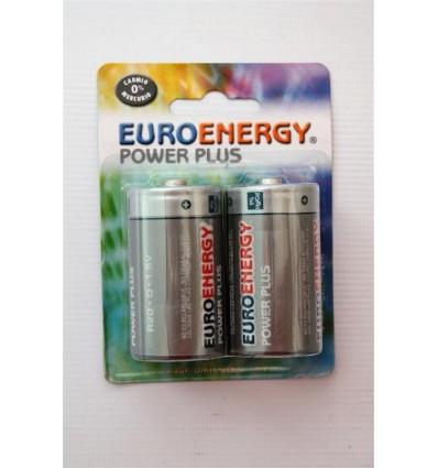 Pilas Euroenergy R-20 Pack-2