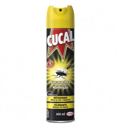 Insecticida Cucal Spray 400 Cucarachas