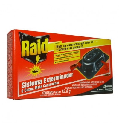 Insektizid Raid Fallen Kakerlaken