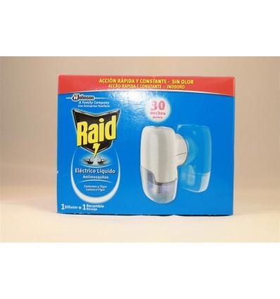 Insecticida Raid Liquido Aparato 30 Noches