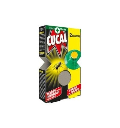 Insecticida Cucal Hormigas Trampa 2 Unidades