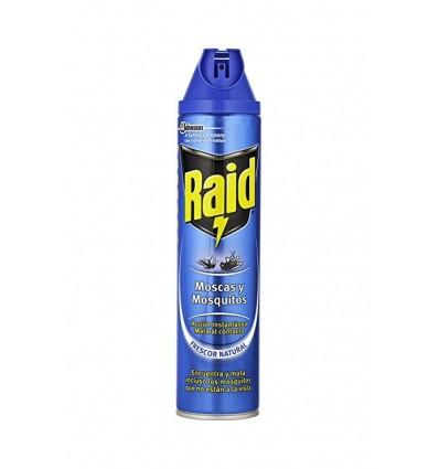 Insecticide Raid Azul Spray 750 Ml