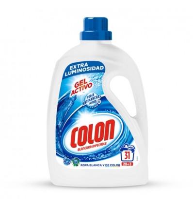 Detergente Liquido Colon Gel 28 Cacitos