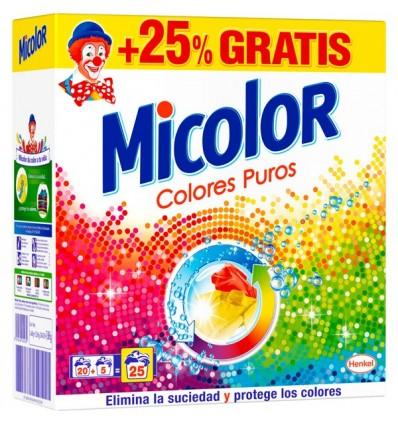 Detergente Maleta Micolor 25 Cacitos