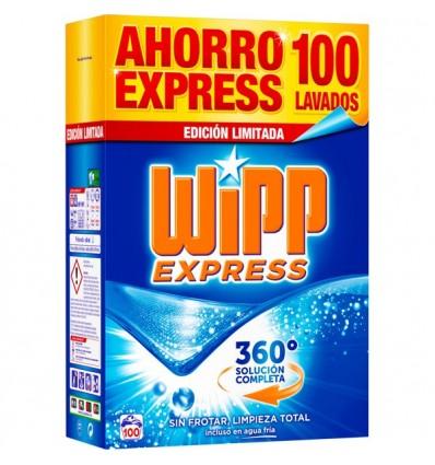 Detergente Maleta Wipp 100 Cacitos