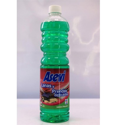 Detergente Liquido Asevi Lanas Automatica 1 L