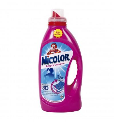 Detergente Liquido Micolor Fresh 23 Lavados