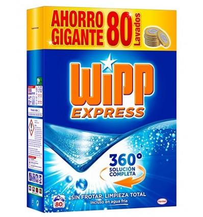 Detergente Maleta Wipp 80 Cacitos